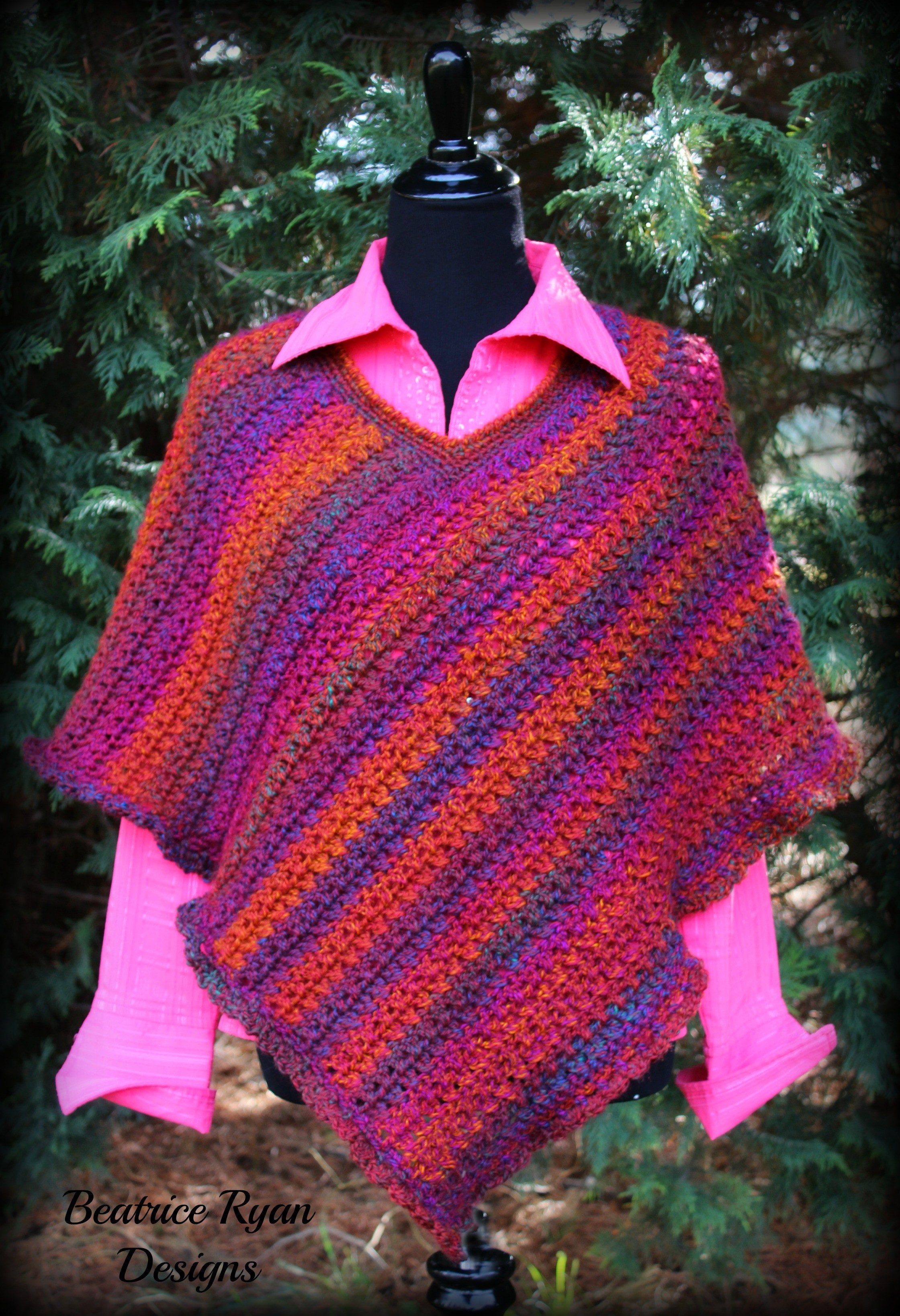 Free Crochet Poncho Patterns Fresh Effortless Chic Poncho Free Crochet Pattern Of Wonderful 50 Images Free Crochet Poncho Patterns