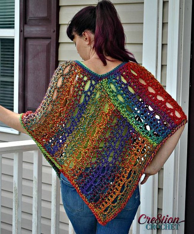 Free Crochet Poncho Patterns Lovely Flatter Your Figure with these Free Crochet Poncho Patterns Of Wonderful 50 Images Free Crochet Poncho Patterns