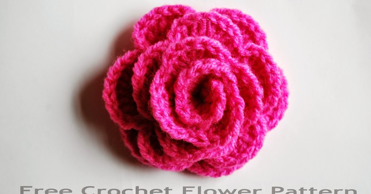 Free Crochet Rose Pattern Awesome Free Crochet Flower Pattern How to Crochet A Rose Of Attractive 49 Pics Free Crochet Rose Pattern
