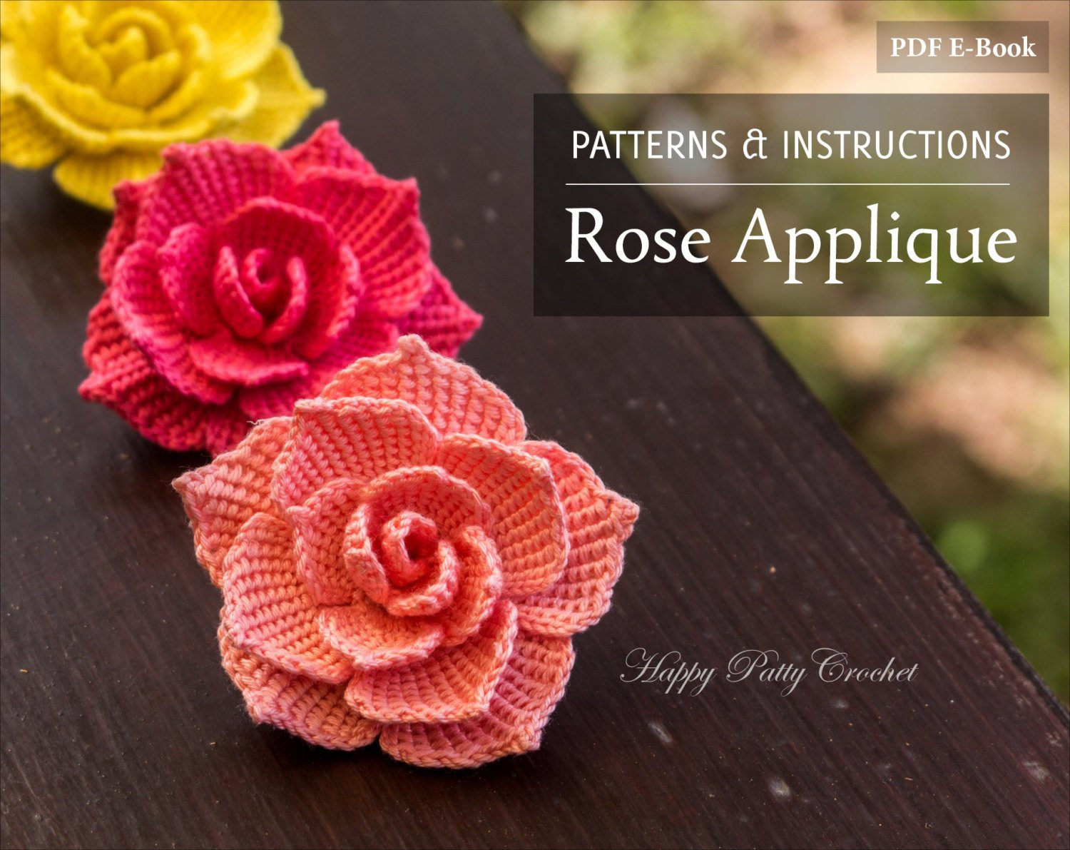 Free Crochet Rose Pattern Beautiful Crochet Rose Pattern Crochet Flower Pattern for A Rose Of Attractive 49 Pics Free Crochet Rose Pattern
