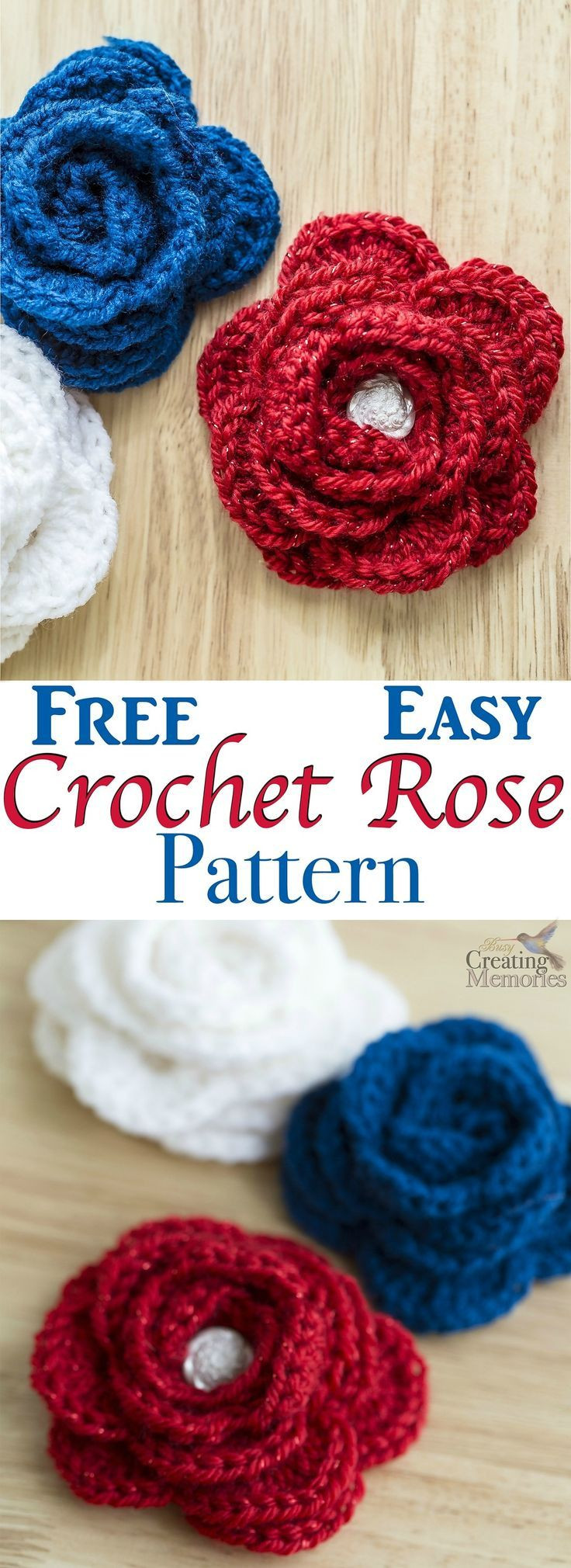 Free Crochet Rose Pattern Beautiful Free Easy Crochet Rose Pattern Of Attractive 49 Pics Free Crochet Rose Pattern
