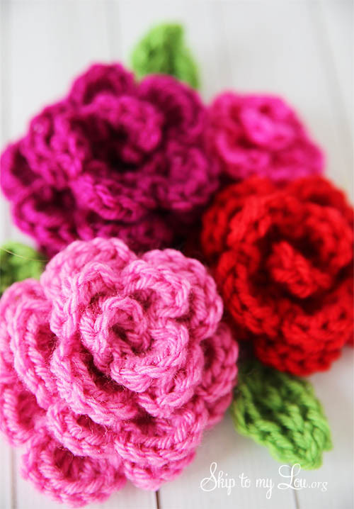 Free Crochet Rose Pattern Elegant Ergahandmade Crochet Rose Free Pattern Of Attractive 49 Pics Free Crochet Rose Pattern