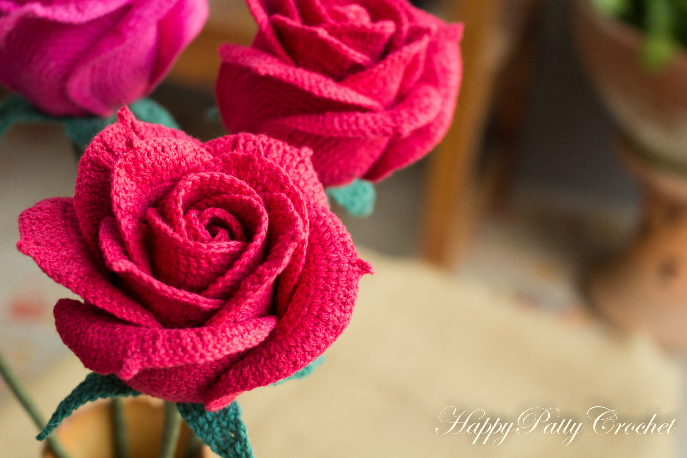 Free Crochet Rose Pattern Inspirational Crochet Open Rose Pattern by Happy Patty Crochet Of Attractive 49 Pics Free Crochet Rose Pattern