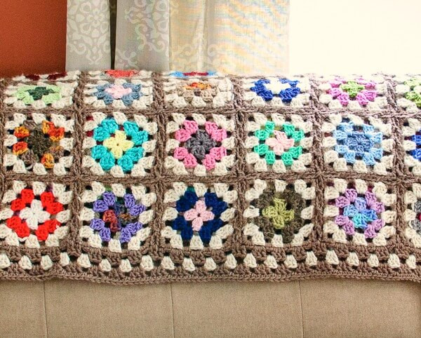 Free Crochet Square Patterns Awesome Free Crochet Granny Square Blanket Pattern Petals to Picots Of Delightful 48 Models Free Crochet Square Patterns