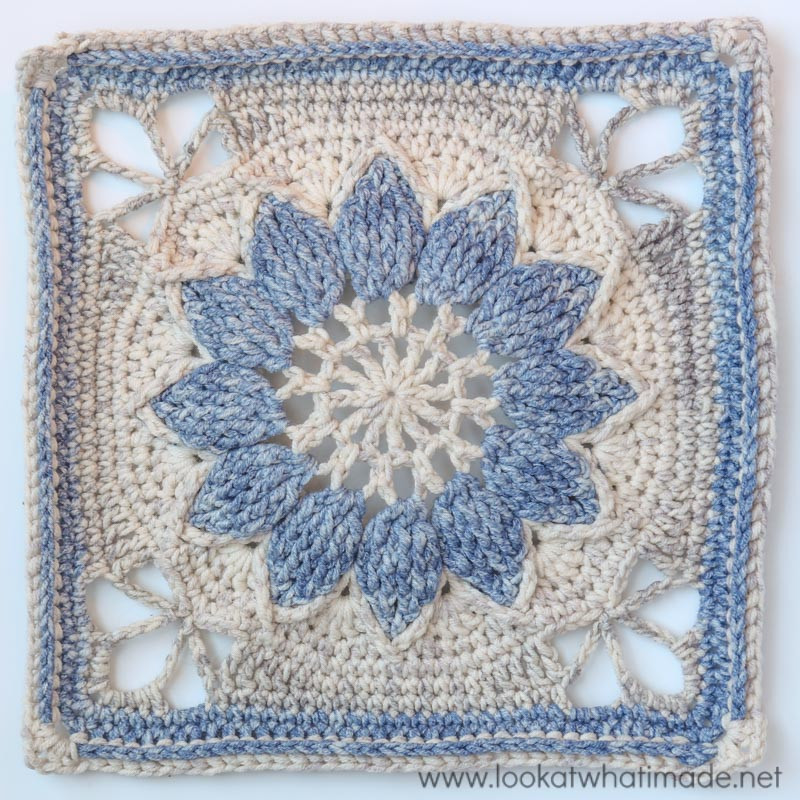 Free Crochet Square Patterns Fresh Charlotte Crochet Square Part 1 ⋆ Look at What I Made Of Delightful 48 Models Free Crochet Square Patterns