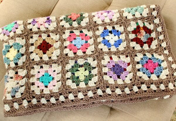 Free Crochet Square Patterns Lovely Free Crochet Granny Square Blanket Pattern Petals to Picots Of Delightful 48 Models Free Crochet Square Patterns