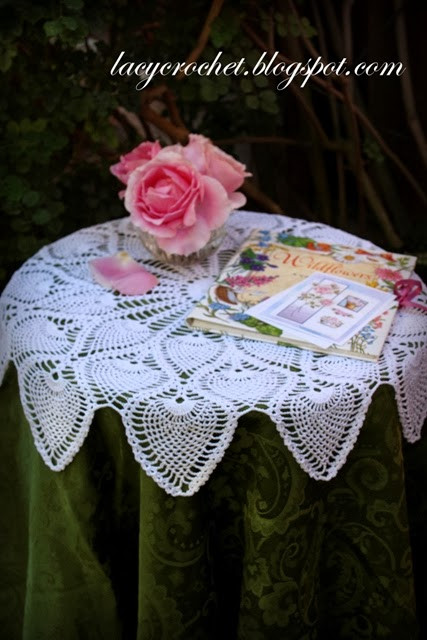 Free Crochet Table topper Patterns Inspirational Lacy Crochet Royal Pineapple Table topper Of Innovative 45 Ideas Free Crochet Table topper Patterns