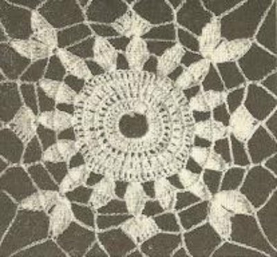 free oval tablecloth crochet patterns