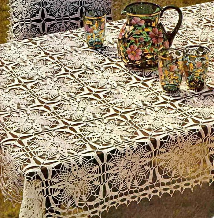 Free Crochet Tablecloth Patterns Luxury 18 Easy Crochet Lace Tablecloth Patterns Of Contemporary 40 Pics Free Crochet Tablecloth Patterns