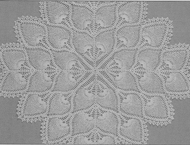 Free Crochet Tablecloth Patterns Luxury totally Free Crochet Pattern Blog Patterns Square Of Contemporary 40 Pics Free Crochet Tablecloth Patterns