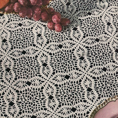 Free Crochet Tablecloth Patterns New 18 Easy Crochet Lace Tablecloth Patterns Of Contemporary 40 Pics Free Crochet Tablecloth Patterns