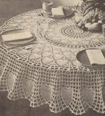 Free Crochet Tablecloth Patterns New Free Pineapple Pattern for Crochet Tablecloth Music Of Contemporary 40 Pics Free Crochet Tablecloth Patterns