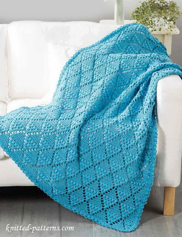 Free Crochet Throw Patterns Elegant Cool & Easy Crochet Blankets with Lots Of Tutorials and Of Contemporary 44 Pics Free Crochet Throw Patterns