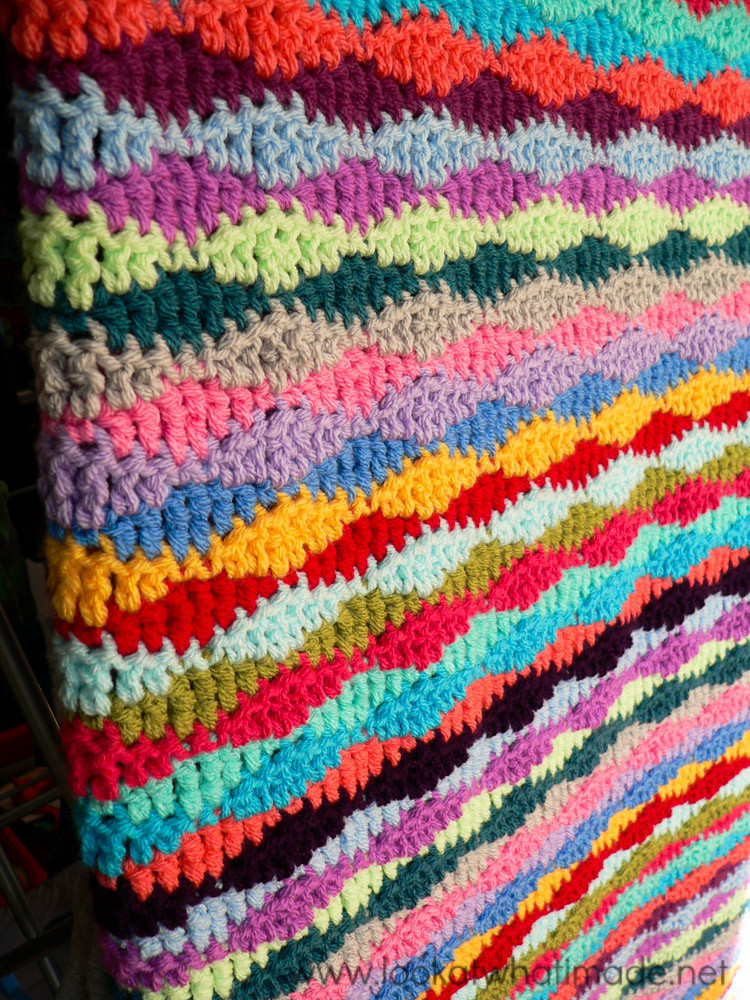 Free Crochet Throw Patterns New Lazy Waves Blanket Pattern ⋆ Look at What I Made Of Contemporary 44 Pics Free Crochet Throw Patterns