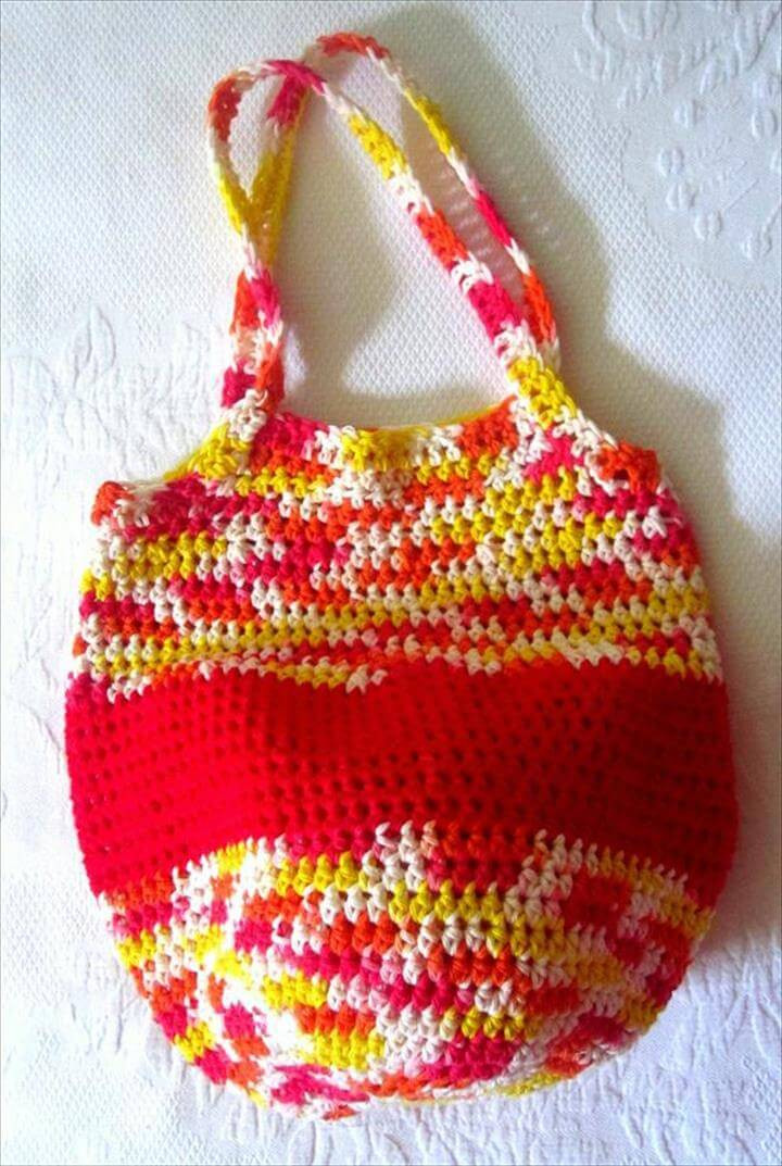 Free Crochet tote Bag Patterns Awesome 50 Diy Crochet Purse tote & Bag Patterns Of Awesome 44 Models Free Crochet tote Bag Patterns