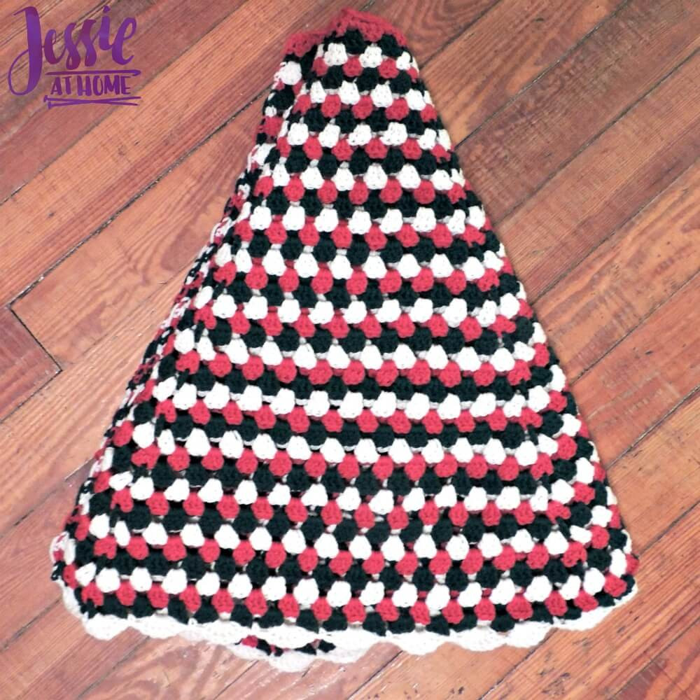 Free Crochet Tree Skirt Pattern Awesome Granny Stripe Tree Skirt Of Marvelous 49 Models Free Crochet Tree Skirt Pattern