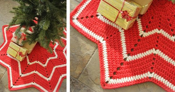 Free Crochet Tree Skirt Pattern Fresh Crocheted Christmas Tree Skirt [free Crochet Pattern Of Marvelous 49 Models Free Crochet Tree Skirt Pattern