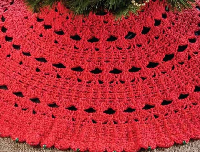 Free Crochet Tree Skirt Pattern Lovely Crochet Christmas Tree Skirt Patterns – Happy Holidays Of Marvelous 49 Models Free Crochet Tree Skirt Pattern