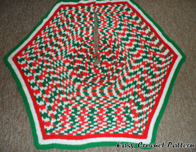 Free Crochet Patterns Free Crochet Christmas Tree Skirt