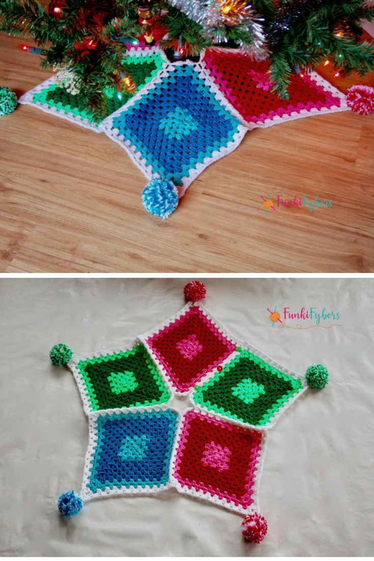 Free Crochet Tree Skirt Pattern Unique 10 Crochet Christmas Tree Skirt Free Patterns Knit and Of Marvelous 49 Models Free Crochet Tree Skirt Pattern