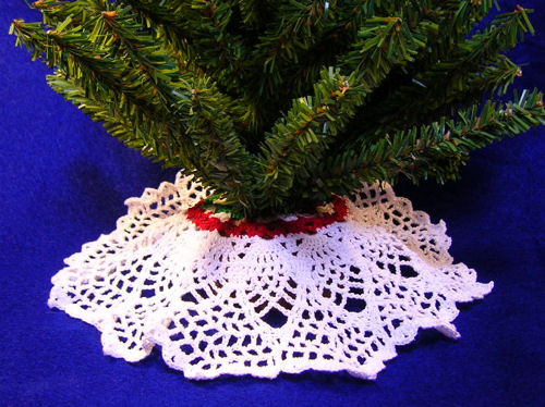 Free Crochet Tree Skirt Pattern Unique Mini Pineapple Tree Skirt A Free Pattern Listed In the Of Marvelous 49 Models Free Crochet Tree Skirt Pattern