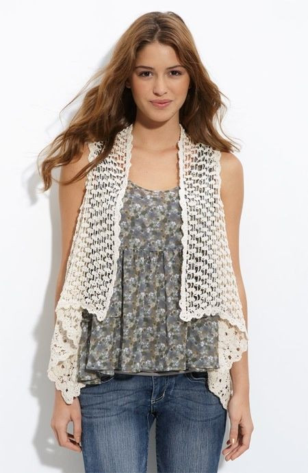 Free Crochet Vest Patterns Beautiful 1000 Images About Crochet Vest Patterns On Pinterest Of Awesome 41 Images Free Crochet Vest Patterns