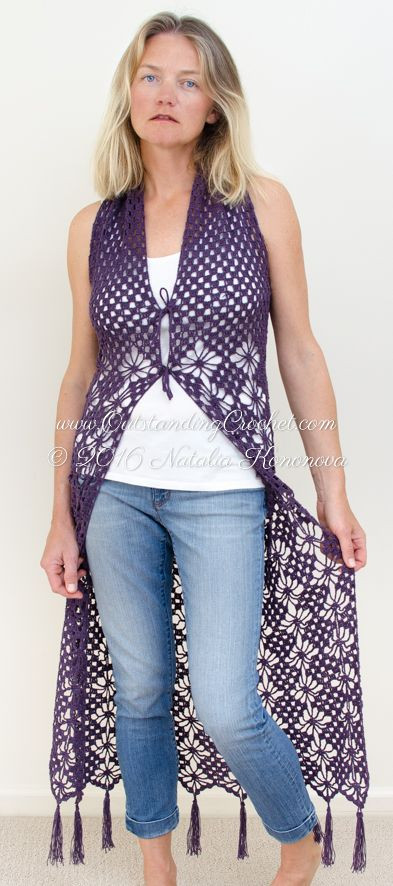 Free Crochet Vest Patterns Inspirational Best 25 Crochet Vest Pattern Ideas On Pinterest Of Awesome 41 Images Free Crochet Vest Patterns