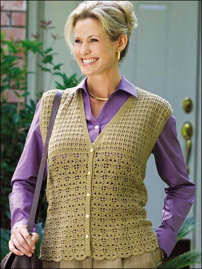 14 crochet vest patterns