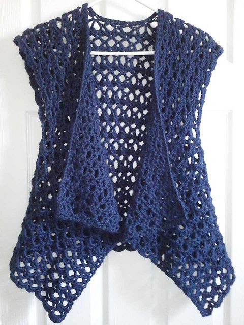 25 best ideas about Crochet Vest Pattern on Pinterest