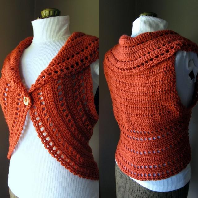 Free Crochet Vest Patterns New Free Crochet Vest Patterns Of Awesome 41 Images Free Crochet Vest Patterns