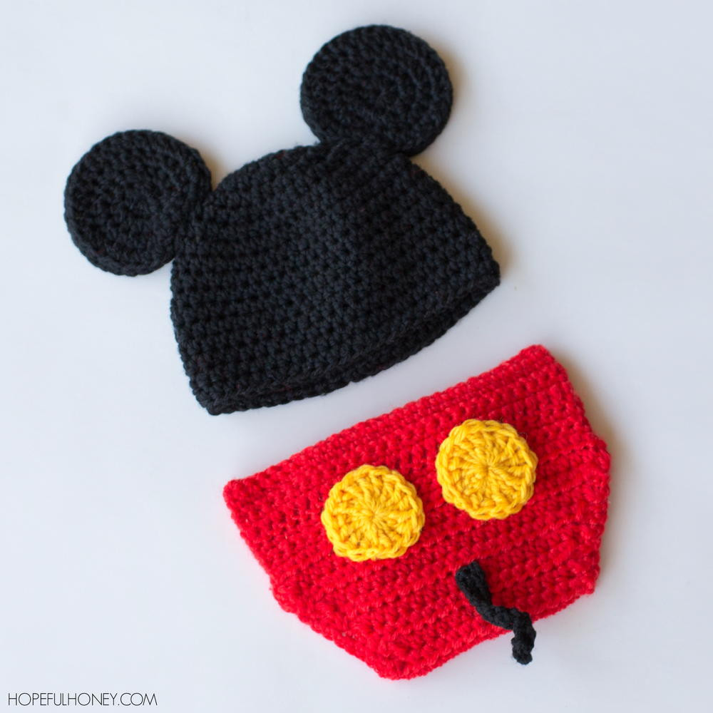 Free Diaper Cover Pattern Elegant Mickey Mouse Inspired Hat & Diaper Cover Of Brilliant 41 Pictures Free Diaper Cover Pattern