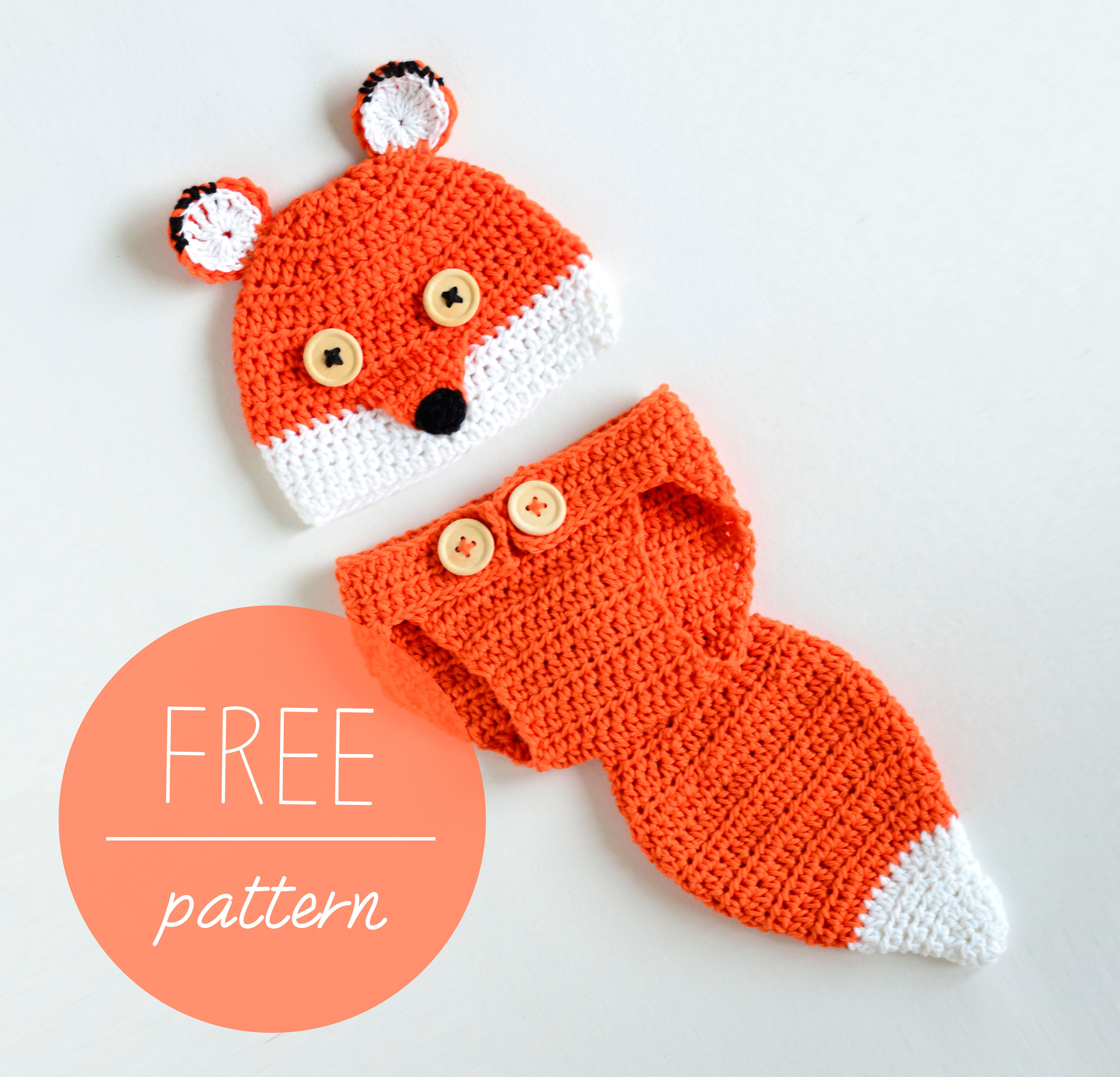 Free Diaper Cover Pattern Fresh Crochet Baby Hat and Diaper Cover – Cute Fox – Croby Patterns Of Brilliant 41 Pictures Free Diaper Cover Pattern