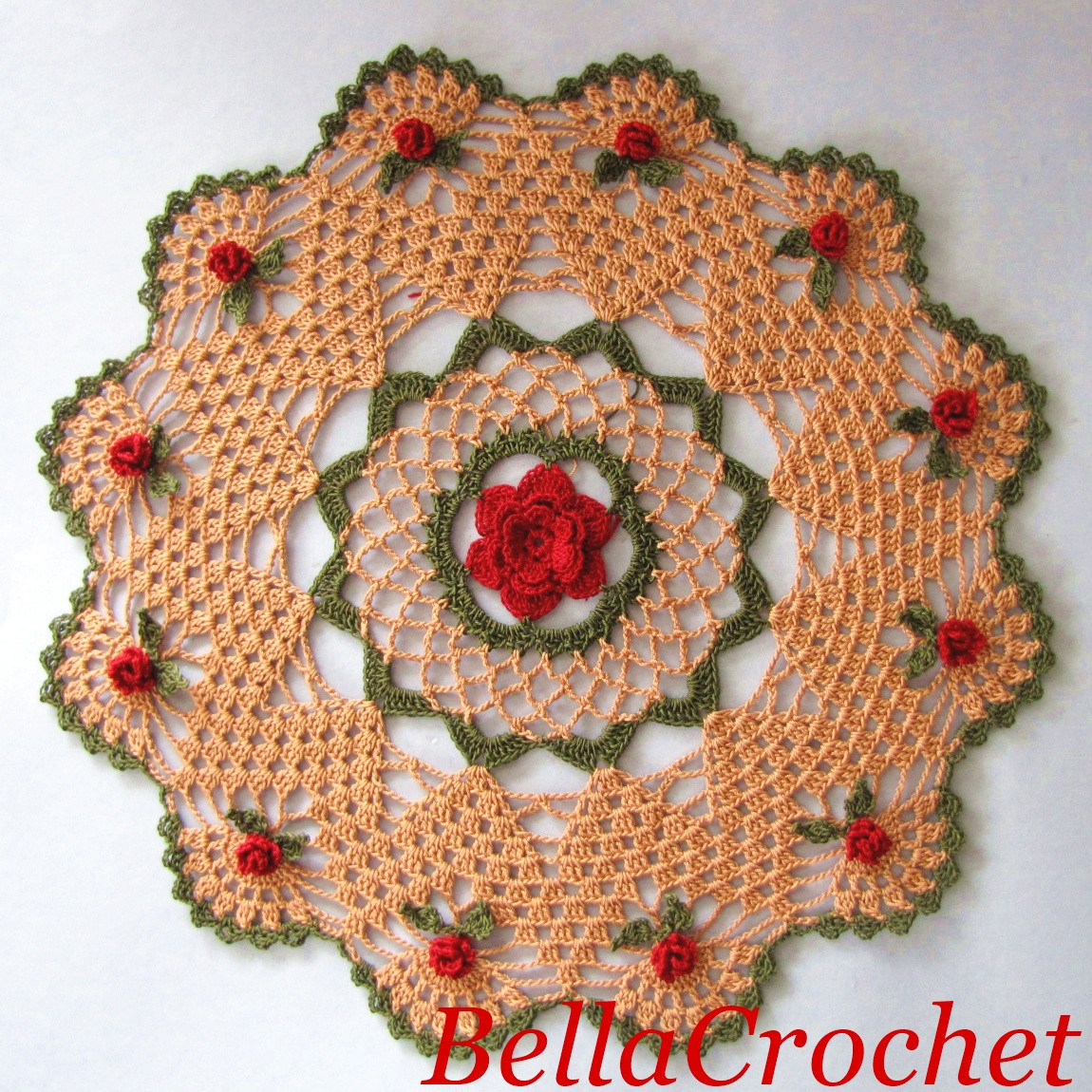 Free Doily Patterns Elegant Bellacrochet Mavanee S Roses A Free Crochet Pattern for You Of Adorable 43 Pictures Free Doily Patterns