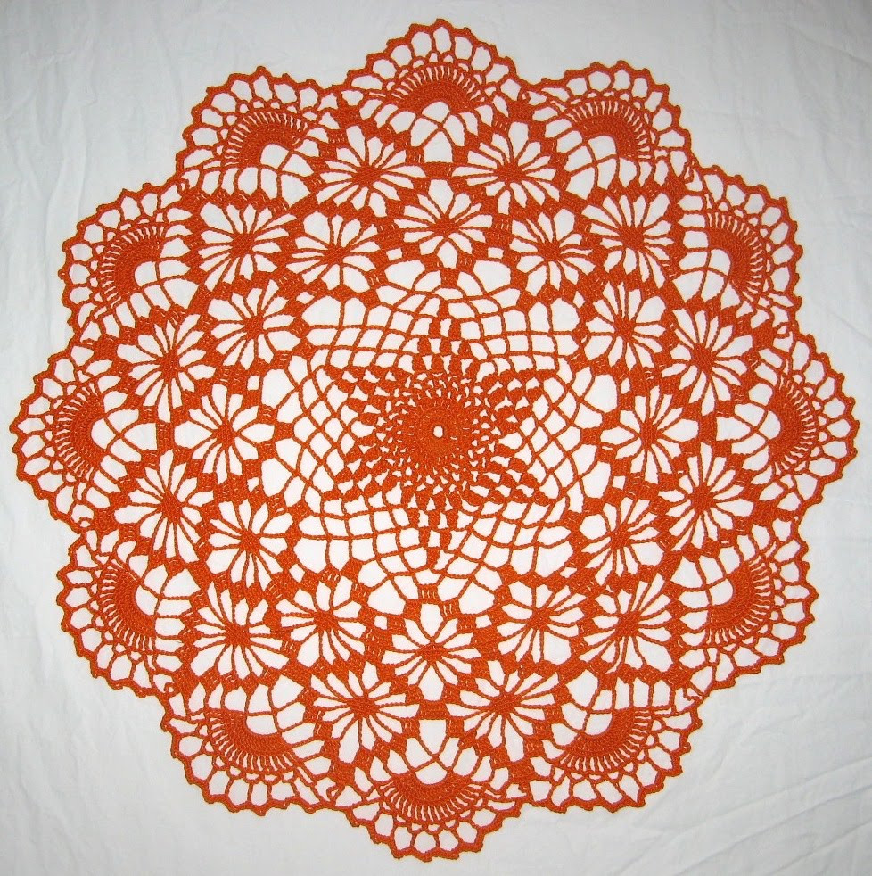Free Halloween Crochet Doily Patterns Dancox for