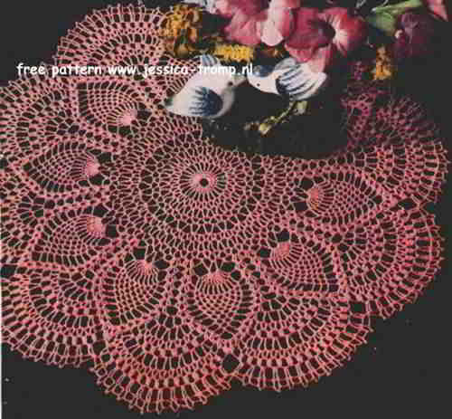 Free Vintage Crochet Patterns For Doilies Dancox for