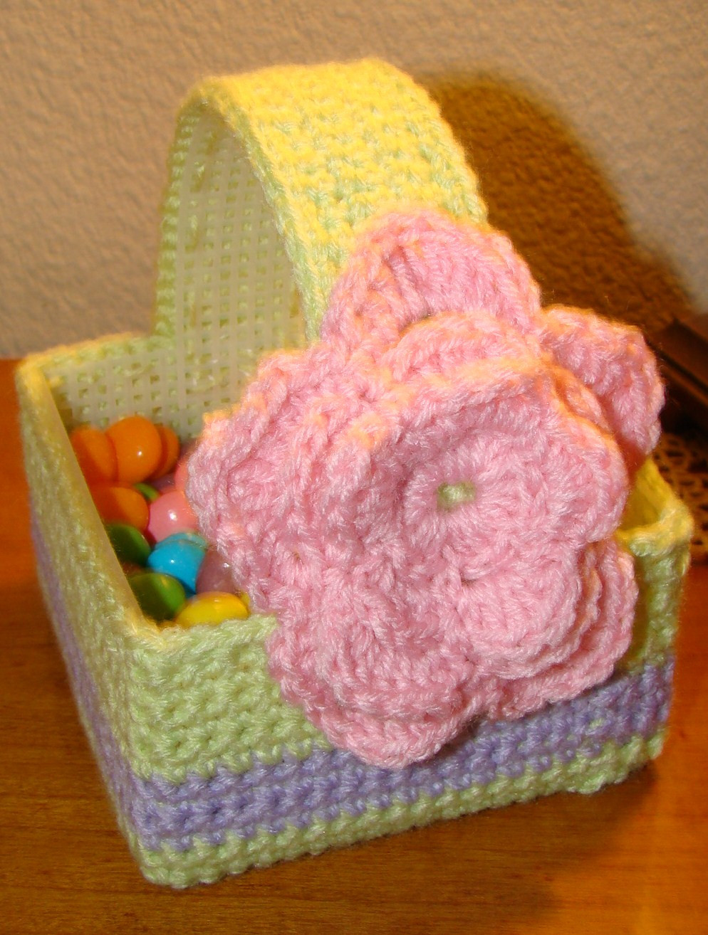 18 Inch Doll Easter Basket Free Plastic Canvas Pattern