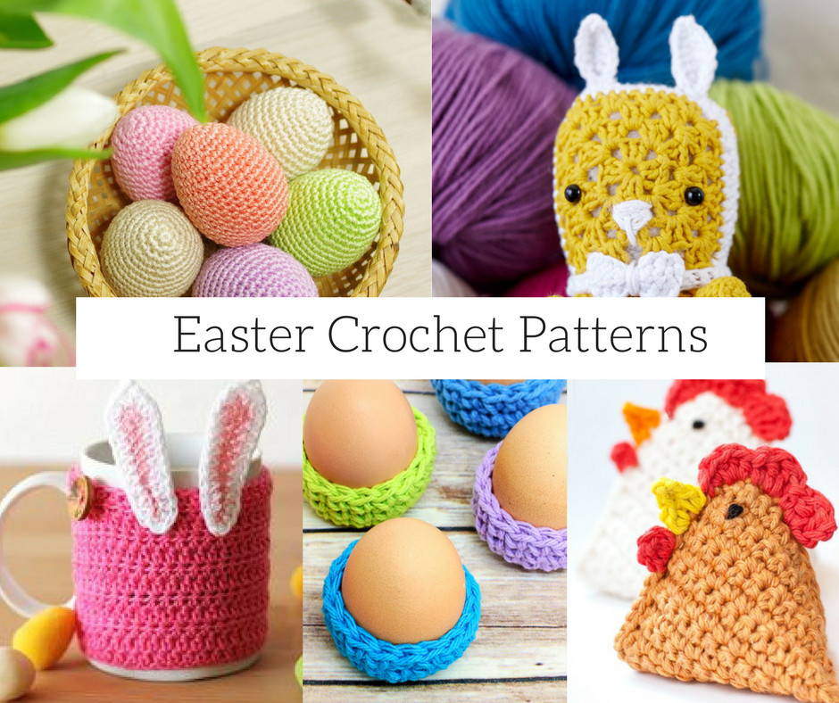 6 Free Easter Crochet Patterns to make this weekend