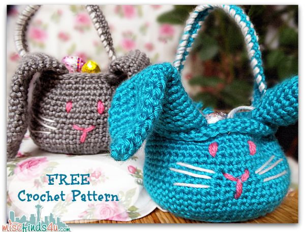 Free Easter Crochet Patterns Lovely 8 Best Images About Crochet Baskets On Pinterest Of Innovative 44 Ideas Free Easter Crochet Patterns