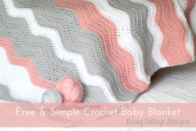 Free Easy Crochet Baby Blanket Patterns Inspirational Ripple Blanket Crochet Pattern Daisy Cottage Designs Of New 48 Models Free Easy Crochet Baby Blanket Patterns