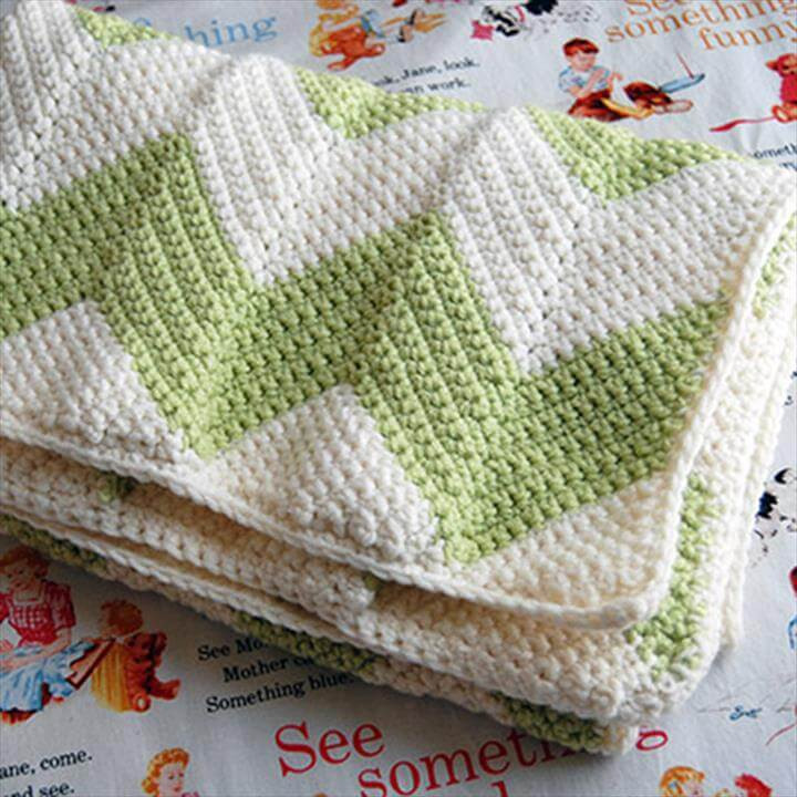 Free Easy Crochet Baby Blanket Patterns Luxury Free Chevron Crochet Baby Blanket Pattern Of New 48 Models Free Easy Crochet Baby Blanket Patterns