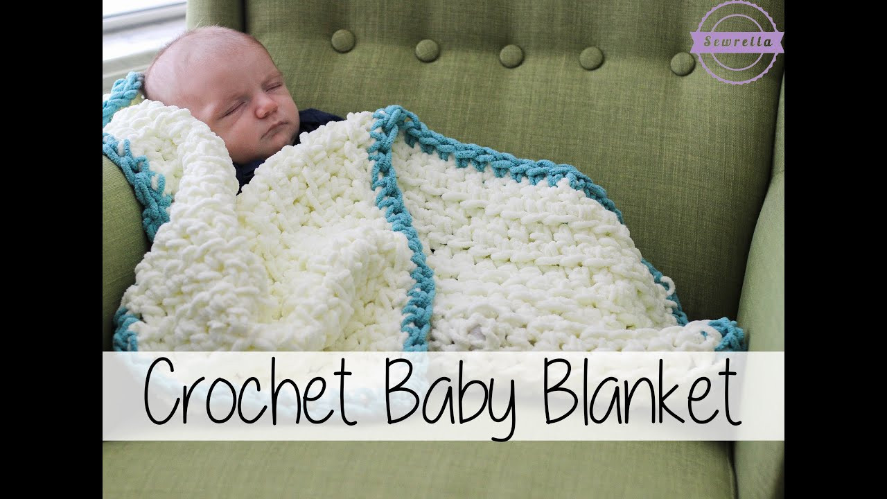 Free Easy Crochet Baby Blanket Patterns New Easy Beginner Crochet Baby Blanket Sewrella Of New 48 Models Free Easy Crochet Baby Blanket Patterns