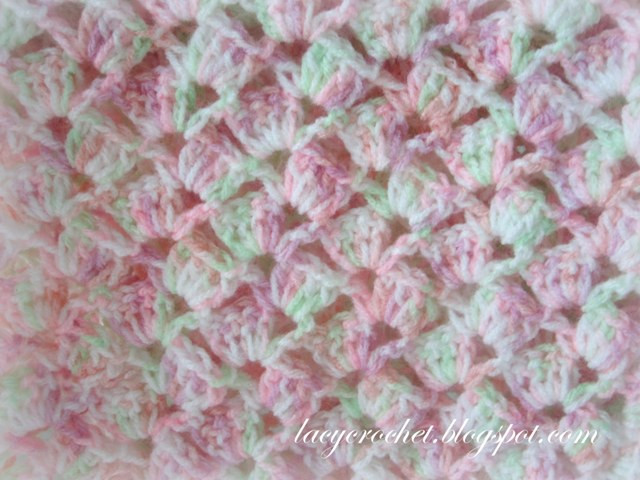 Free Easy Crochet Baby Blanket Patterns New Lacy Crochet Summer Baby Blanket In Variegated Yarn Free Of New 48 Models Free Easy Crochet Baby Blanket Patterns