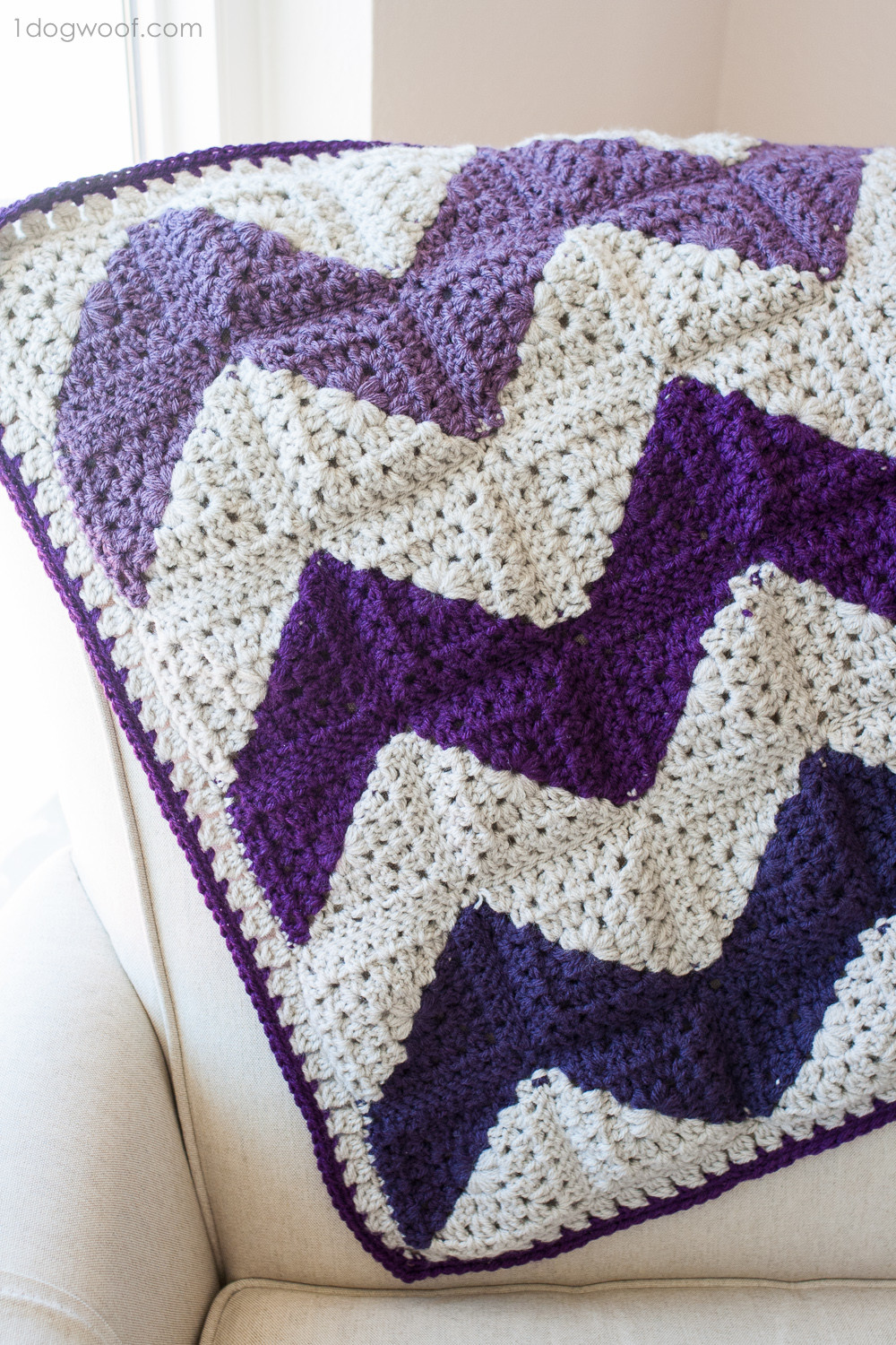 Free Granny Square Afghan Patterns Awesome Granny Squares Chevron Afghan Crochet Pattern E Dog Woof Of Amazing 46 Pictures Free Granny Square Afghan Patterns