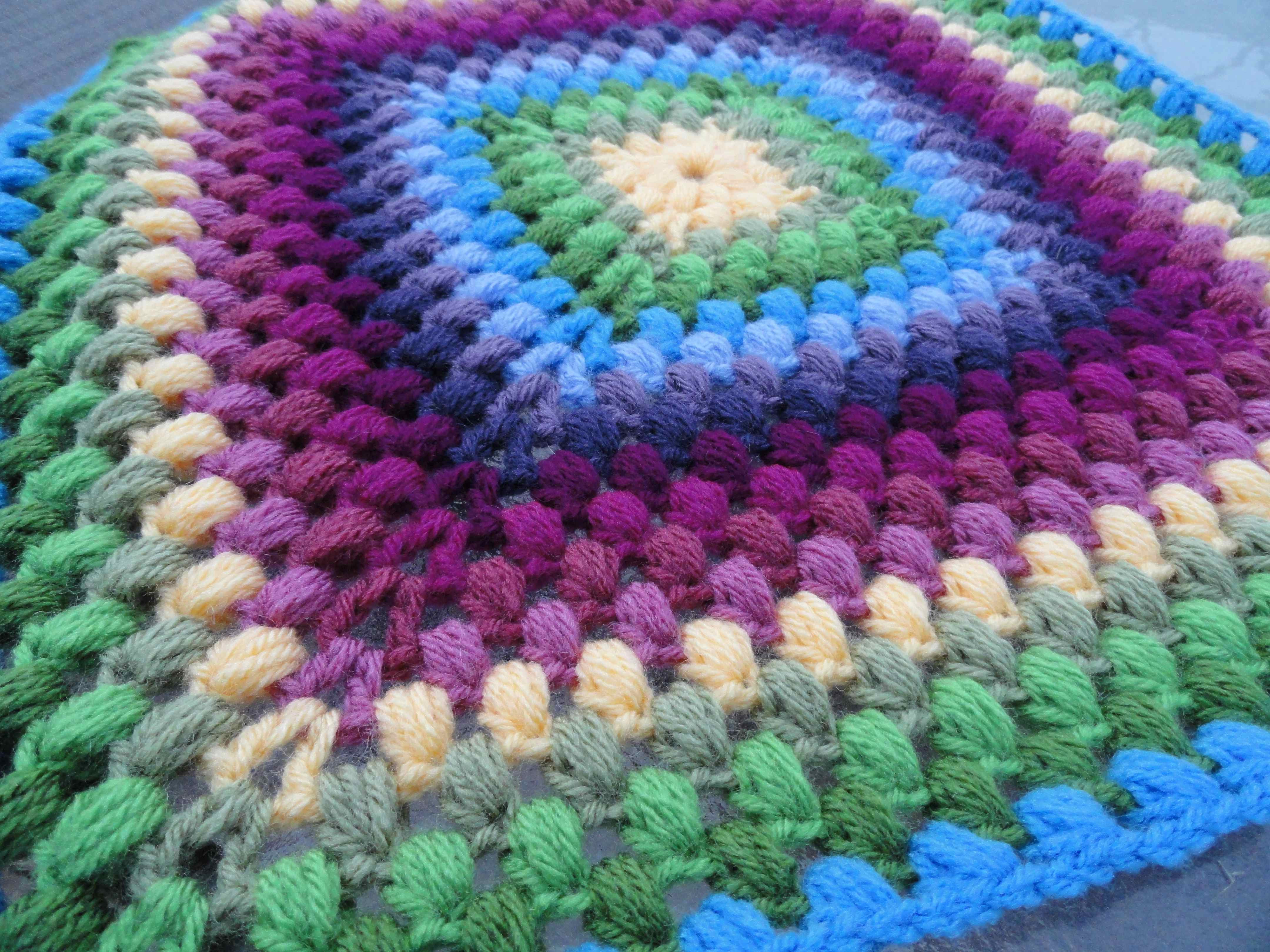 CROCHETED SQUARE PATTERNS Free Patterns