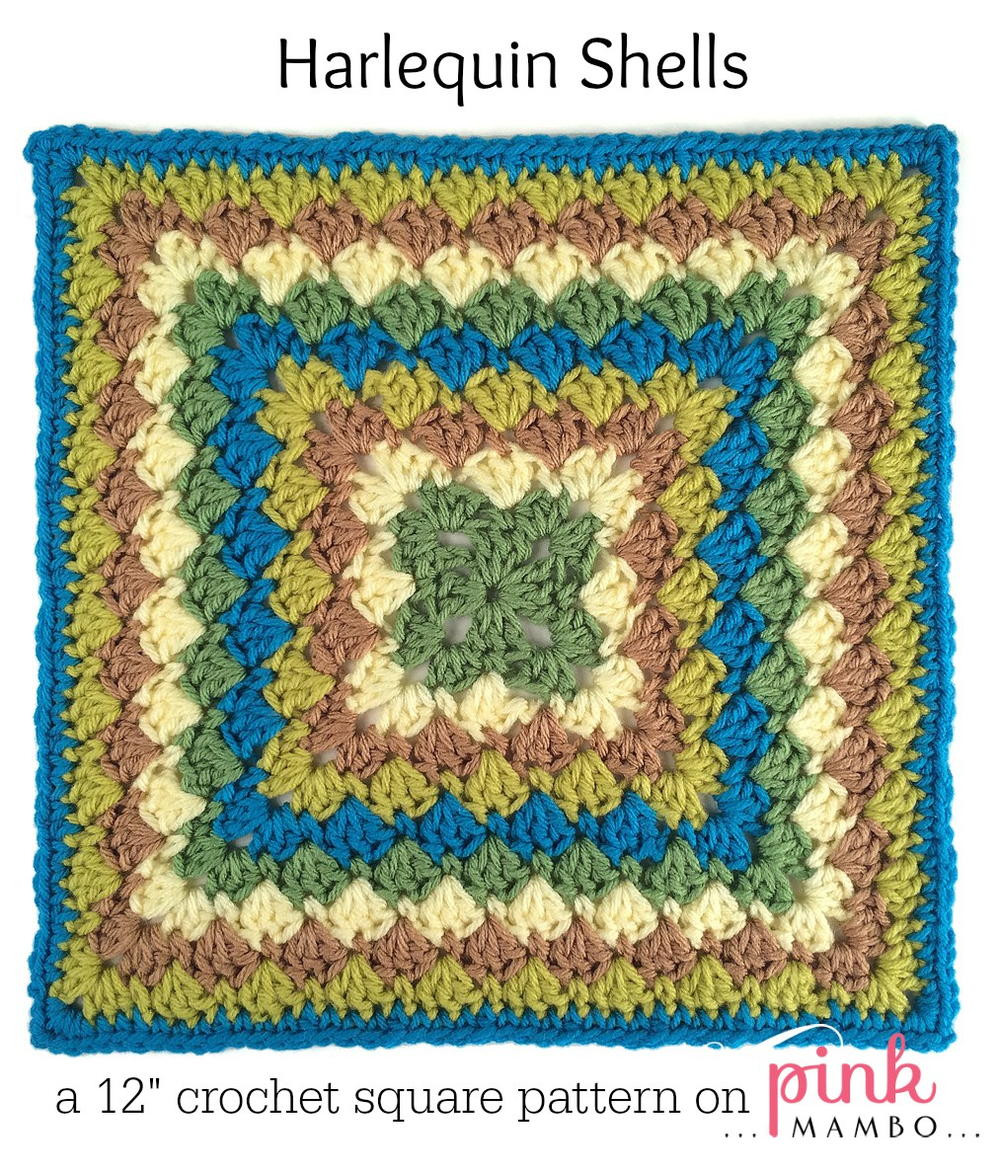 Free Granny Square Afghan Patterns Beautiful Roundabout Harlequin Granny Square Of Amazing 46 Pictures Free Granny Square Afghan Patterns