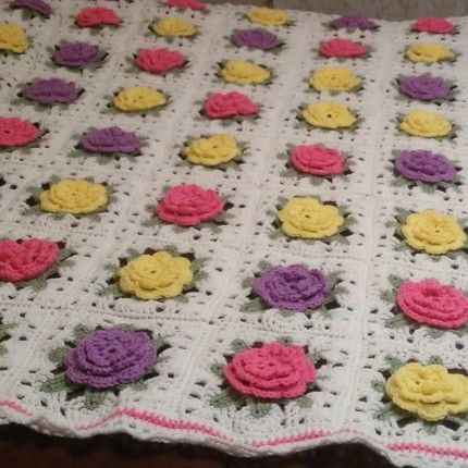 Free Granny Square Afghan Patterns Luxury Crochet Rose Granny Square Afghan Free Pattern Crochet Of Amazing 46 Pictures Free Granny Square Afghan Patterns