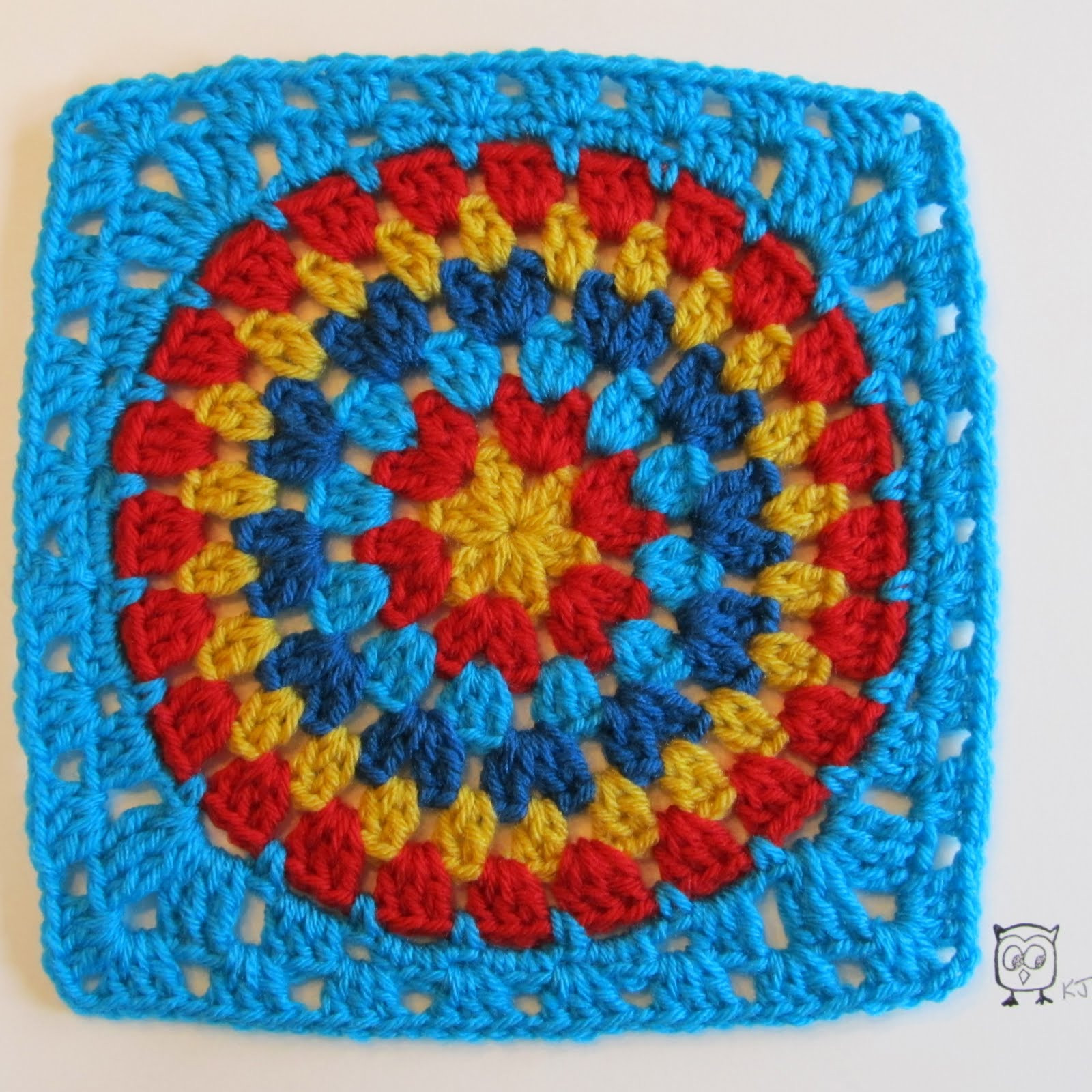 Free Granny Square Patterns Beautiful Squaring the Big Circle Tutorial Of Incredible 49 Pictures Free Granny Square Patterns