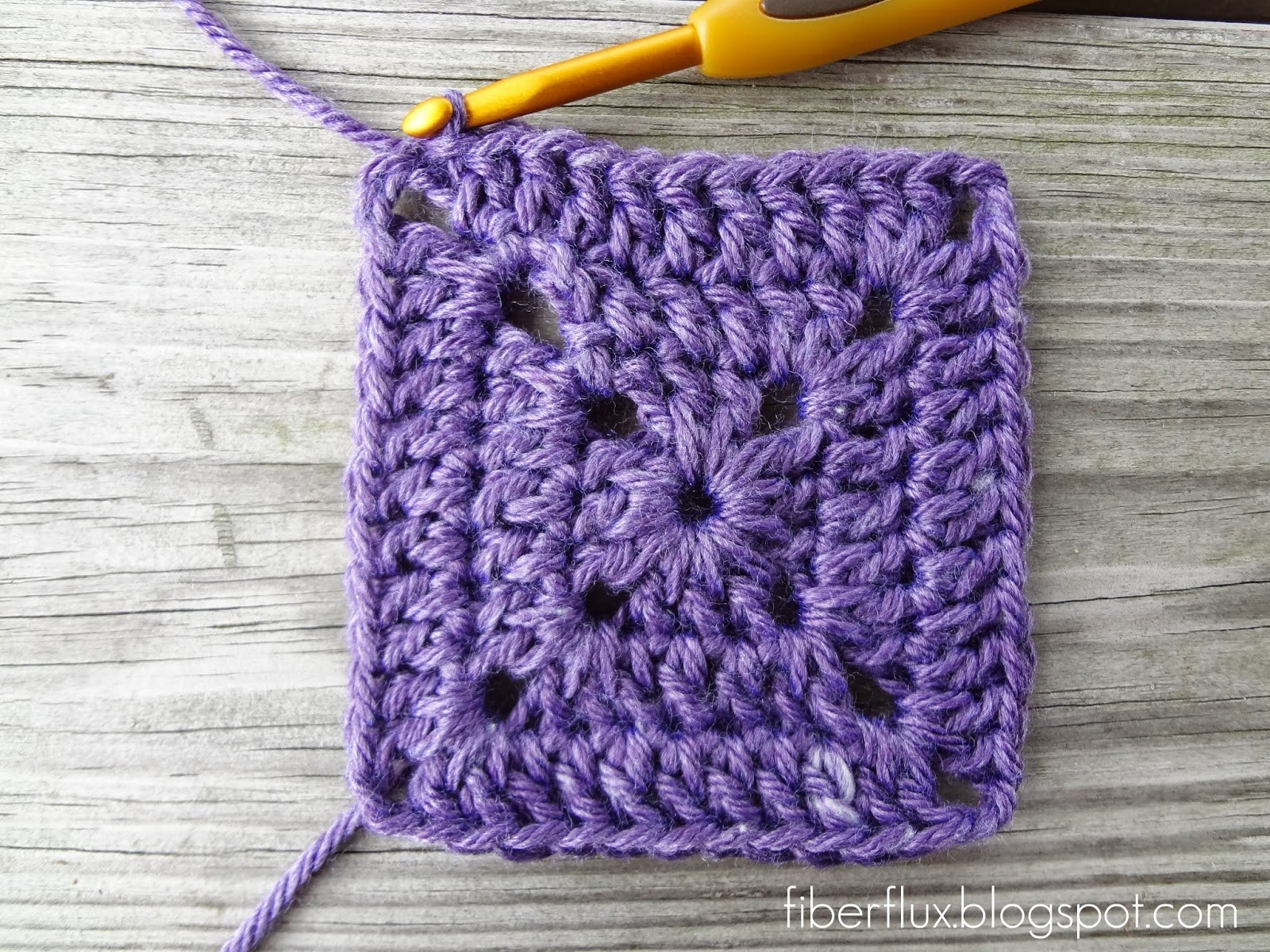 Free Granny Square Patterns Inspirational Fiber Flux How to Crochet A solid Granny Square Of Incredible 49 Pictures Free Granny Square Patterns