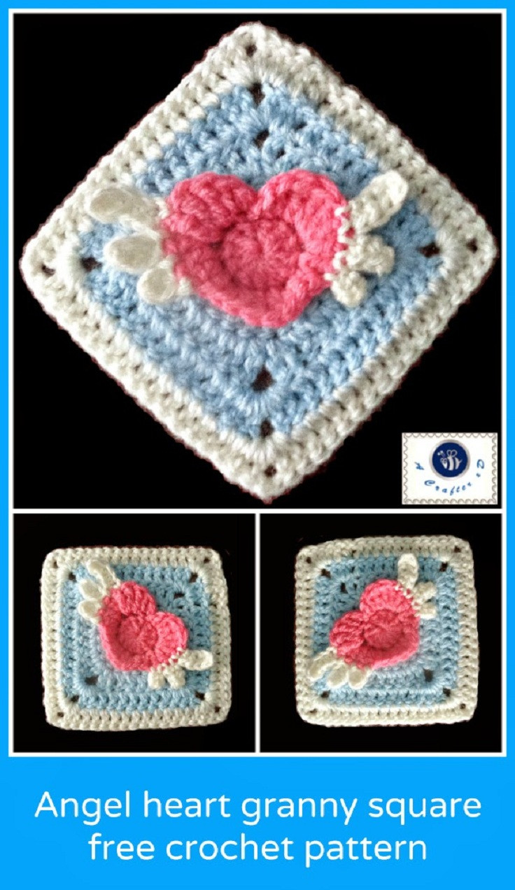 Free Granny Square Patterns Lovely top 10 Free Crochet Granny Square Patterns top Inspired Of Incredible 49 Pictures Free Granny Square Patterns