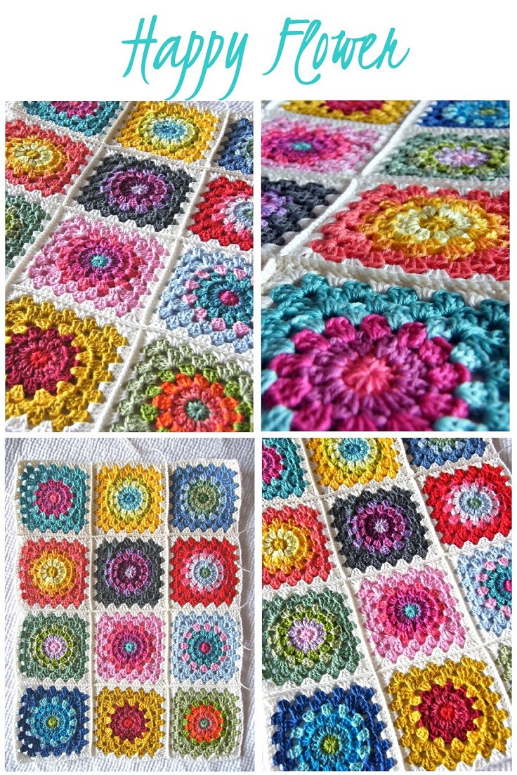 Free Granny Square Patterns Luxury top 10 Free Crochet Granny Square Patterns top Inspired Of Incredible 49 Pictures Free Granny Square Patterns